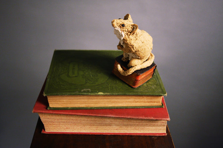 Hymn book mouse