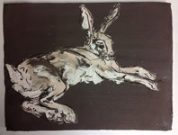 Drawings on clay - Stephanie Quayle